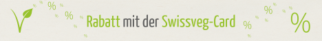Swissveg-Mitglied Rabatt